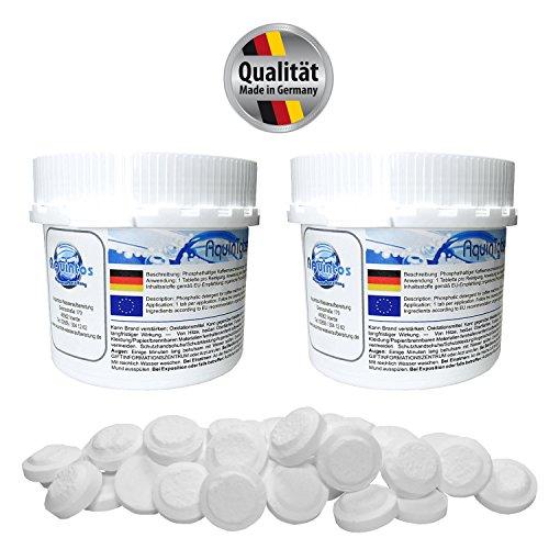 2er Pack AquinTobs universal Reinigungstabletten AQ57003 - 100 Tabletten à 1,6g - Für...