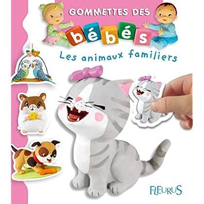 Gommettes des bébés : Les animaux familiers