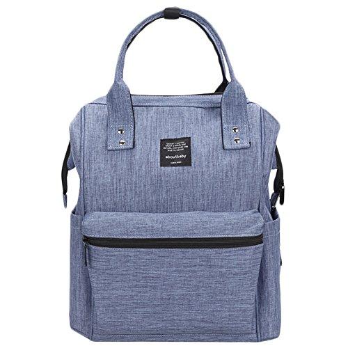 Scheppend Anti-Diebstahl Multi funktionelle Mumie Tasche Travel Rucksack Schulter Windel wechseln Tasche/Rucksack für Männer, Frauen (Laptop-tragetaschen Nette)