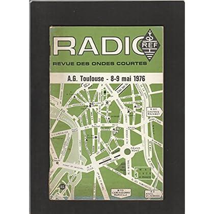 Radio REF [No 5 de Mai 1976] Revue des ondes courtes : A.G. Toulouse