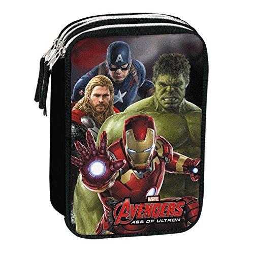Plumier Vengadores Avengers Marvel Mighty triple
