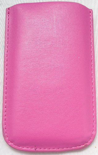 Emartbuy Pink Pouch / Case / Hülse / Halter (Groß) Mit Pull Tab Mechanismus Geeignet Für Apple Ipod Touch 4 (4. Generation) + Lcd Screen Protector -