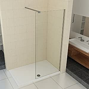 walk in duschtrennwand 10mm esg glas 90 140 cm breite 90cm baumarkt. Black Bedroom Furniture Sets. Home Design Ideas