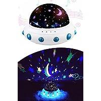 Tatlı Rüyalar Müzikli Dönen Projektör Gece Lambası