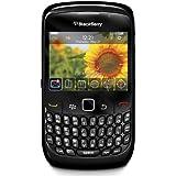 """Blackberry 8520 - Smartphone Declocage,(écran 2,46 """"320 x 240, appareil photo 2 MP, 256 Mo de capacité, processeur 600 MHz, un clavier QWERTY, OS iOS 5) (Import),Noir"""
