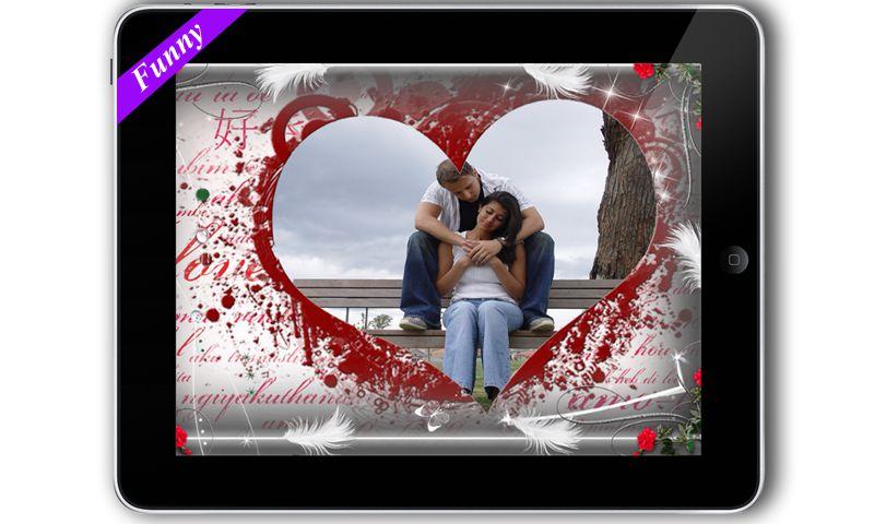 true love photo frame