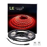 LE Ruban LED Rouge 5m SMD LED 3528 12V 4.8W Bande Lumineuse pour Décoration Intérieure, Noël, Mariage, Festival, Bal, Soirée