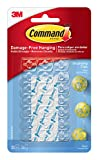 Command Decoration Clips for Christmas and Fairy Light - Clear