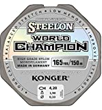 Konger Angelschnur World Champion Fluorocarbon Coated 0,10-0,30mm/150m Monofile Schnur super stark !...