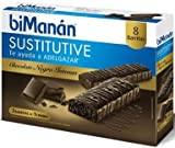Bimanán - Sustitutive Barritas Chocolate Intenso 8 uds