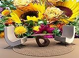 Premium Wall Murals Tapisserie Bouquet de fleurs l'Art de mur Papier peint photo décor d'impression haute qualité de l'affiche