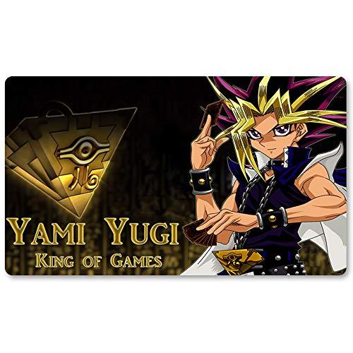 New Yami Yugi Wallpaper 2016 - Brettspiel Yugioh Spielmatte Spiele Tischmatte Größe 60x35 cm Mousepad MTG Spielmatte für Yu-Gi-Oh! Pokemon Magic The Gathering