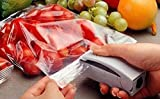 #2: BJE New White Sealer, Portable Sealing Tool Heat Mini Handheld Plastic Bag Impluse Sealer, Make Small Packets To Carry On Trips Of Refreshments Or Pickels Or Tit Bits, A Great Accessory For Various Applications, A Must Buy.