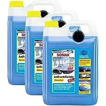 3x Sonax 03325050anticongelante (& Transparente concentrado Protección contra Heladas waschanlage 5L
