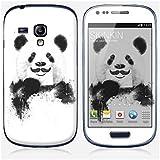 Sticker Samsung Galaxy S3 mini de chez Skinkin - Design original : Funny Panda par Soltib