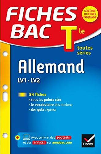 Allemand : LV1 - LV2, tle toutes séries / Michel Salenson,....- Paris : Hatier , DL 2014, cop. 2015