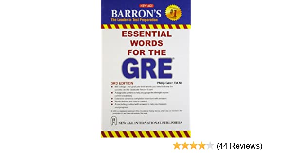 Buy barrons essential words for the gre book online at low prices buy barrons essential words for the gre book online at low prices in india barrons essential words for the gre reviews ratings amazon fandeluxe Image collections