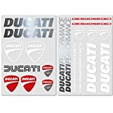 Kit 20 Adesivi Ducati Stickers Decals Casco Monster 821 Panigale 959