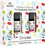 Alessandro International: StripLac Thomas Rath Fashion Colours Set Pink/Brown (1 stk) - Limitierte Edition!