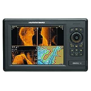 """Humminbird ONIX8cxi SI Combo Colour GPS/traceur/sondeur-Imagerie Partagée, 8,4 """"Noir"""