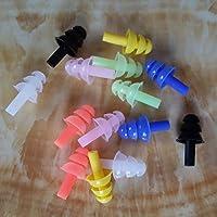UxradG 6Paar Schwimmen Silikon Ohr Plug, Healthcare Schwimmen Displayschutzfolie Ear Plugs mit Sicherheit Kordel... preisvergleich bei billige-tabletten.eu