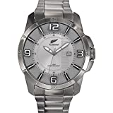 All Blacks - 680188 - Montre Homme - Quartz Analogique - Cadran Gris - Bracelet...