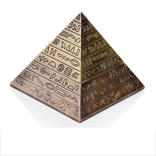 LCTYHG Retro Pyramid Cigar Ashtray Tapa
