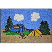 Preisvergleich für Brunner Campingbedarf Fußmatte Caravan Wash und Dry By Kleen-Tex, 29414