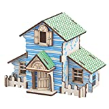 goodkid DIY - 3D - baukastensystem Holz bildungs - Puzzle der handgefertigten Model Toys Wald - Hütte Kinder, Jugendliche und Erwachsene - Kreative Geburtstag Weihnachtsgeschenk