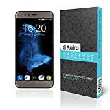 #6: Kaira InFocus Turbo 5 0.26mm Thickness 2.5D Curved Edged Tempered Glass Screen Protector with Smooth Touch for InFocus Turbo 5 [Smaller Due To Curve Edges]
