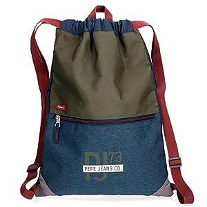 516EtL73vnL. SS300  - Pepe Jeans Trade Mochila Tipo Casual, 46 cm, 0.81 litros, Multicolor
