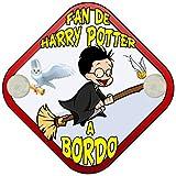 Placa bebé a bordo fan de Harry Potter a bordo