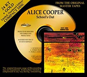 School's Out by Alice Cooper (2009) Audio CD