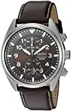 SEIKO CASUAL DRESS SNN241 GENTS STAINLESS STEEL CASE CHRONOGRAPH DATE WATCH