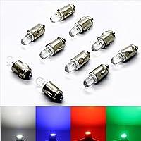 10 Stück Verkabelte Dioden LED pre Wired Blau Diffus Gefärbt 6V 1.8mm