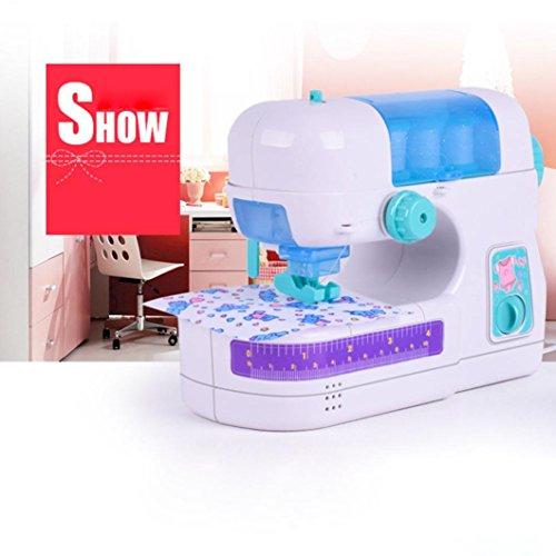 Kinder Nähmaschine, Gusspower Mini Tragbare Elektrische Nähmaschine Sticken Haushaltswerkzeug, Intelligenz Aktivitäten Einfache Spielzeug Für Mädchen