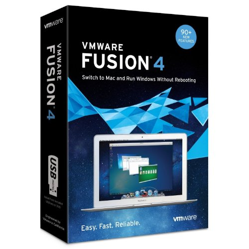 VMware Fusion 4, 1 User, Mac, Promo