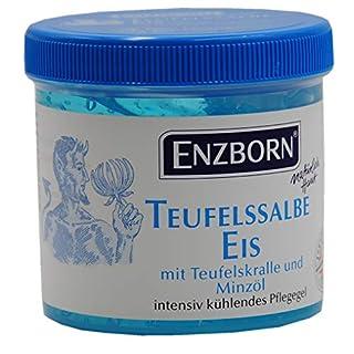 Amesbichler Pferdesalbe Teufelssalbe EIS mit Teufelskralle Menthol Minzöl intensiv kühlend 200 ml