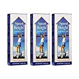 Speed Height Supplement Ayurvedic Capsules, 3x20 Caps - Pack of 3