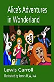Alice's Adventures in Wonderland is one of the most popular children's books of all time. It was published in 1865. The author was Lewis Carroll. But Lewis Carroll is a pen name. The author's real name is Charles Lutwidge Dawson.He was born in the vi...