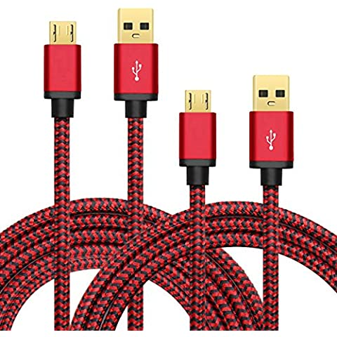 Micro USB Cavo, BeneStellar [2 Pack] Premium Micro USB Cavo