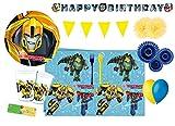 DECORATA PARTY Kit n 62 Decorazioni Compleanno Transformers
