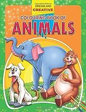 Animals (Creative Colouring Books)