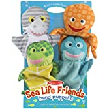 Melissa Doug Sea Life Friends Hand Puppets (Set Of 4)