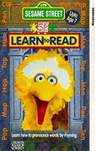 Sesame Street - Learn To Read - Learn How To Pronounce Words By Rhyming [VHS]