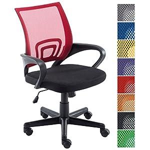 516F3TOm%2B%2BL. SS300  - CLP-Silla-de-escritorio-GENIUS-Silla-giratoria-con-altura-regulable-Asiento-acolchado-y-con-tapizado-con-tela-en-red-transpirable-Disponible-en-diferentes-colores-rojo
