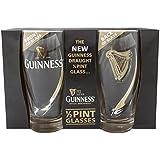 Guinness Half Pint Glasses - Livery Design by Guinness