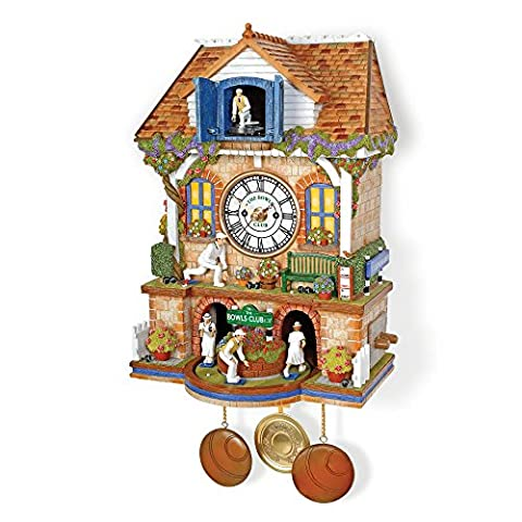 'Spirit Of Bowls' Cuckoo Clock by The Bradford