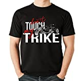Siviwonder Unisex T-Shirt - TRIKE DREIRAD - dont touch my - Motorrad Fun schwarz XXL