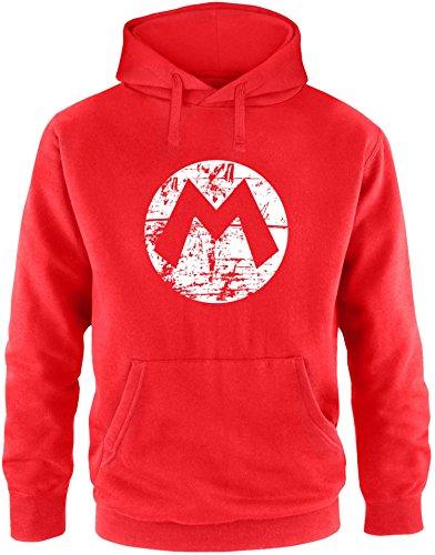 Super Mario Hoodie - EZYshirt® Mario Herren Hoodie | Herren